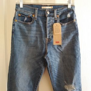 Levi's Jeans - Levis Wedgie Fit High Rise Straight Leg Jean